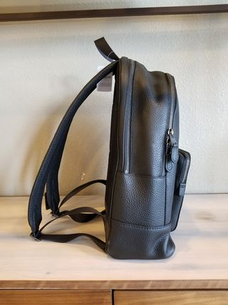 Coach バックパック・リュック 【即発3-5日着】COACH◆男性用WEST BACKPACK◆本皮製リュック◆(3)