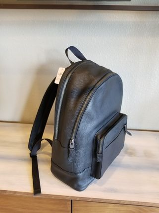 Coach バックパック・リュック 【即発3-5日着】COACH◆男性用WEST BACKPACK◆本皮製リュック◆(4)