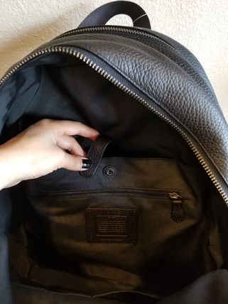 Coach バックパック・リュック 【即発3-5日着】COACH◆男性用WEST BACKPACK◆本皮製リュック◆(7)