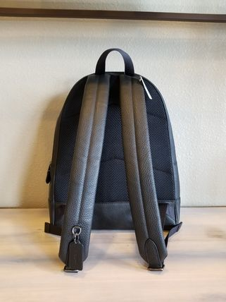 Coach バックパック・リュック 【即発3-5日着】COACH◆男性用WEST BACKPACK◆本皮製リュック◆(12)