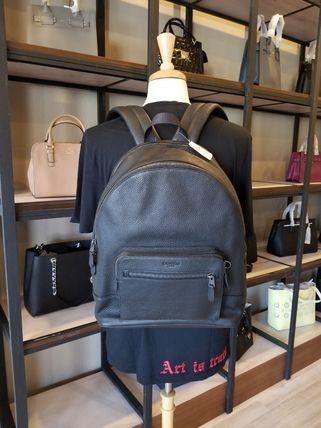 Coach バックパック・リュック 【即発3-5日着】COACH◆男性用WEST BACKPACK◆本皮製リュック◆(16)