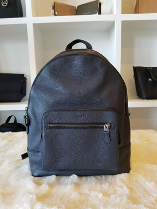 Coach バックパック・リュック 【即発3-5日着】COACH◆男性用WEST BACKPACK◆本皮製リュック◆(17)