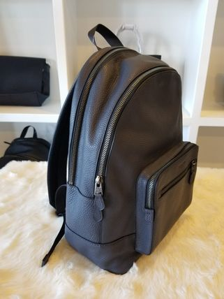Coach バックパック・リュック 【即発3-5日着】COACH◆男性用WEST BACKPACK◆本皮製リュック◆(18)