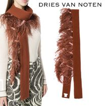 【18AW】★Dries Van Noten★embellished knitted scarf