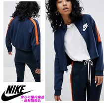 Nike N98 Polyknit Track Jacket In Blue And Orange♪