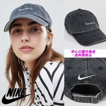 Nike Black Just Do It Logo Cap♪