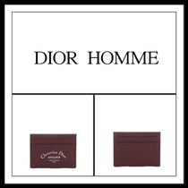 ★★DIOR HOMME ( BURGUNDY CARD HOLDER )送料込み★★