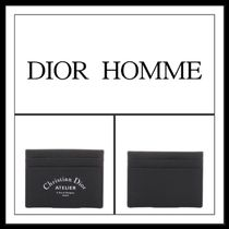 ★★DIOR HOMME ( BLACK CARD HOLDER )送料込み★★