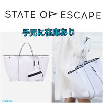 【State of Escape】入荷困難  ホワイト carry all