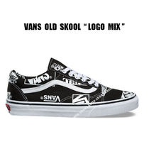 VANS★OLD SKOOL LOGO MIX★ロゴ★兼用★22.5~28cm