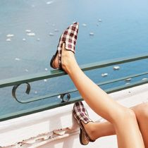 ★&Other Stories★Pointed Slingback Plaid Flats★チェック★