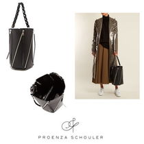 【Proenza Schouler】Hex medium leather bucket bag