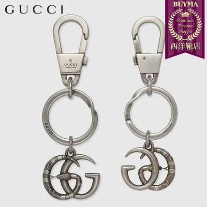 84504273a BUYMA| 正規品保証 GUCCI☆18秋冬☆DOUBLE G WITH SNAKE KEYCHAIN ...