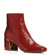 Tory Burch  Juliana Tumbled Patent Leather Booties