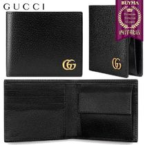 【正規品保証】GUCCI★18秋冬★GG MARMONT LEATHER COIN WALLET