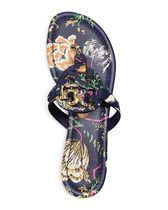 Tory Burch MILLER SANDAL, PRINTED PATENT LEATHER
