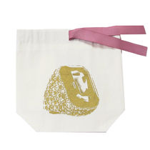 即納Bag-all NY発 コットン RING  Organizing bag(GOLD/PINK)
