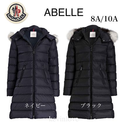 MONCLER キッズアウター 新作! 18/19秋冬 モンクレール ファー付ABELLE 8A/10A