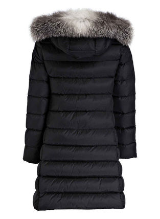 MONCLER キッズアウター 新作! 18/19秋冬 モンクレール ファー付ABELLE 8A/10A(3)