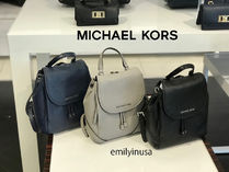 追跡有 Michael Kors★RILEY MD BACKPACK*べブルレザー