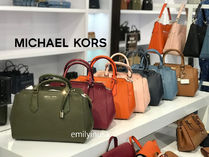 追跡有 Michael Kors★HAYES LG SATCHEL 2way*全革製