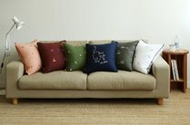 【Dailylike】 Embroidery cushion cover (50*50or45*45)