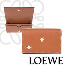 LOEWE Business Card Holder Stars タン さりげない可愛さ