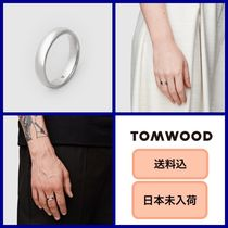 ■送料込■ Tom Wood Classic Band Medium Polished リング♪