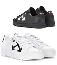 Off-White★Carryover leather sneakers (225~270)