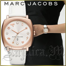 ★安心ヤマト便★MARC JACOBS Mandy Rose G White Watch MJ8678