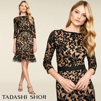 TADASHI 3色ありKENNEDY EMBROIDERED LACE DRESS
