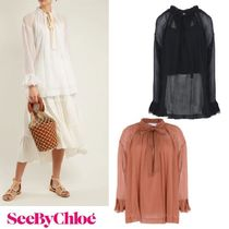 ☆ See By Chloe ☆タイ ネック ブラウス☆SALE