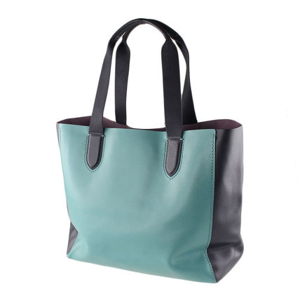 Coach マザーズバッグ 返品可能 COACH clrblk lg drby tote トートバッグ【国内即発】(4)