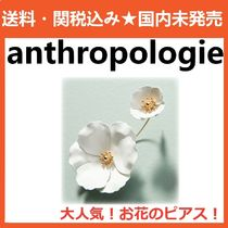 anthropologie お花のピアスCaptiva Floral Front-Back Earrings