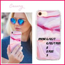 最新!!日本未入荷☆THE CASERY ☆RASPBERRY MARBLE IPHONE