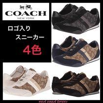 【COACH】Kelson Outline レースアップスニーカー4色