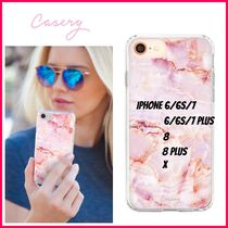 最新!!日本未入荷☆THE CASERY ☆ROSE MARBLE IPHONE CASE