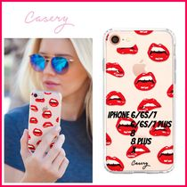 最新!!日本未入荷☆THE CASERY ☆LIPS IPHONE CASE