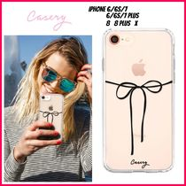 最新!!日本未入荷☆THE CASERY☆BLACK BOW IPHONE CASE