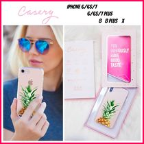最新!!日本未入荷☆THE CASERY☆PINEAPPLE TOP IPHONE CASE