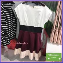 【kate spade】人気のスタイル★colorblock fiorella dress★