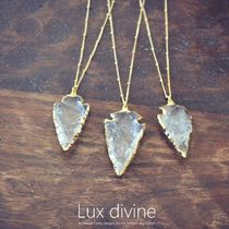 Clear Quartz ARROWHEAD ネックレス★Luxdivine #1055