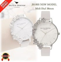 NEW☆◆Olivia Burton◆繊細美 Case Cuff Lace BigWatch