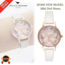NEW☆◆Olivia Burton◆コーデに華を Glasshouse Vegan Watch