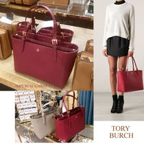 【Tory Burch】Emerson Buckle Small Tote☆関送込/ヤマト便