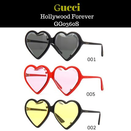 Gucci グッチ★Hollywood Forever GG0360S  ハートサングラス