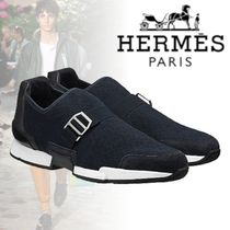 HERMES 2018-19AW Sneakers Run スニーカー ネイビー