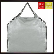 【ステラマッカートニー】Falabella Fold Over Tote Bag Silver