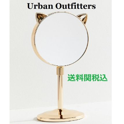 Urban Outfitters 鏡 送関込☆Urban Outfitters☆伸縮式ネコ耳ミラーCat Ear Mirror