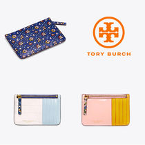 【TORY BURCH】Color-Block Top-Zip * カード・パスケース